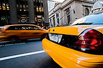 New York Cab, outside Grand Central Station