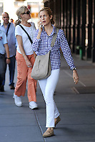 WWW.ACEPIXS.COM . . . . . .August 30, 2010, New York City....Kelly Rutherford on the set of Gossip Girl on August 30, 2010 in New York City....Please byline: KRISTIN CALLAHAN - ACEPIXS.COM.. . . . . . ..Ace Pictures, Inc: ..tel: (212) 243 8787 or (646) 769 0430..e-mail: info@acepixs.com..web: http://www.acepixs.com .