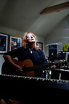 Emily Saliers, best known for being one half of the folk rock band the Indigo Girls, has a two-bedroom home in Decatur, Georgia. She poses for a portrait in her upstairs studio June 14, 2010...CREDIT: Kendrick Brinson/LUCEO.EmilySaliers