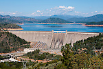 Lake Shasta behind Shasta Dam in Northern California.Photo copyright Lee Foster.  Photo # california-lake-shasta-cashas105118