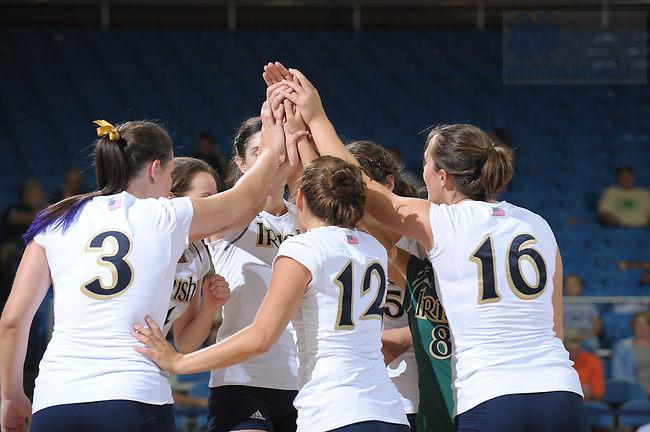 Volleyball, 2008..Photo by Matt Cashore/University of Notre Dame