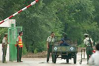China North Korea Border Tumen