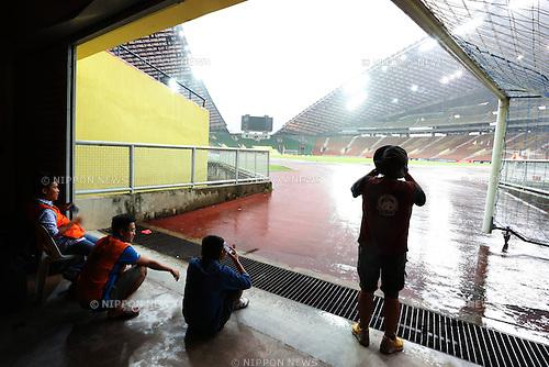General view, MARCH 29, 2015 - Football / Soccer : AFC U-23 Championship 2016 Qualification Group I match between U-22 Japan 2-0 U-22 Vietnam at Shah Alam Stadium in Shah Alam, Malaysia. (Photo by Sho Tamura/AFLO SPORT)