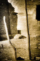 Ladder to the Under World - Kiva Ladder. Mesa Verde NP, Colorado. <br />