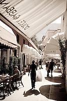 Designer shopping, Capri, Italy Designer brand shopping, Capri,  Italy
