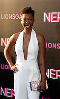 NEW YORK, NY-July 12: Samira Wiley at Lionsgate presents the World Premiere of NERVE   at SVA Theater in New York. NY July 12, 2016. Credit:RW/MediaPunch