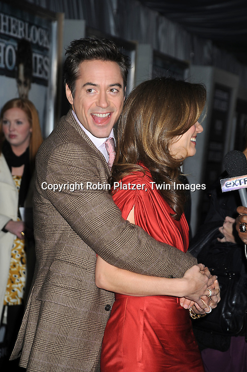 Susan Downey and Robert Downey, Jr