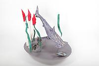Hammerhead shark:  designer - Fernando Gilgado Gomez, folder - Rosalind Joyce<br /> Giant tube worm:  designer - Rosalind Joyce / David Donahue, folder - Rosalind Joyce<br /> Seaweed:  designer + folder - Rosalind Joyce<br /> Fish:  designer - Hoang Tien Quyet, folder - Rosalind Joyce