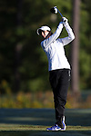 16 October 2016: Duke's Gurbani Singh (IND). The Final Round of the 2016 Ruth's Chris Tar Heel Invitational NCAA Women's Golf Tournament hosted by the University of North Carolina Tar Heels was held at the UNC Finley Golf Club in Chapel Hill, North Carolina.