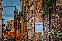 The Cannonball Restaurant on the Royal Mile in Edinburgh.