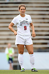 22 August 2014: Ohio State's Michela Paradiso. The Duke University Blue Devils played The Ohio State University Buckeyes at Fetzer Field in Chapel Hill, NC in a 2014 NCAA Division I Women's Soccer match. Ohio State won the game 1-0.