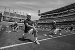 2013 May 27: Duke Blue Devils prepare on Lincoln Financial Field before playing the Syracuse Orange.