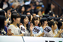 Japan Fans, JULY 3rd, 2011 - Basketball : Basketball Japanese representative international friendly match 2011, between Japan 69-78 S Oliver Baskets Wuerzburg (GER) at 2nd Yoyogi Gymnasium, Tokyo, Japan. (Photo by Jun Tsukida/AFLO SPORT) [0003].