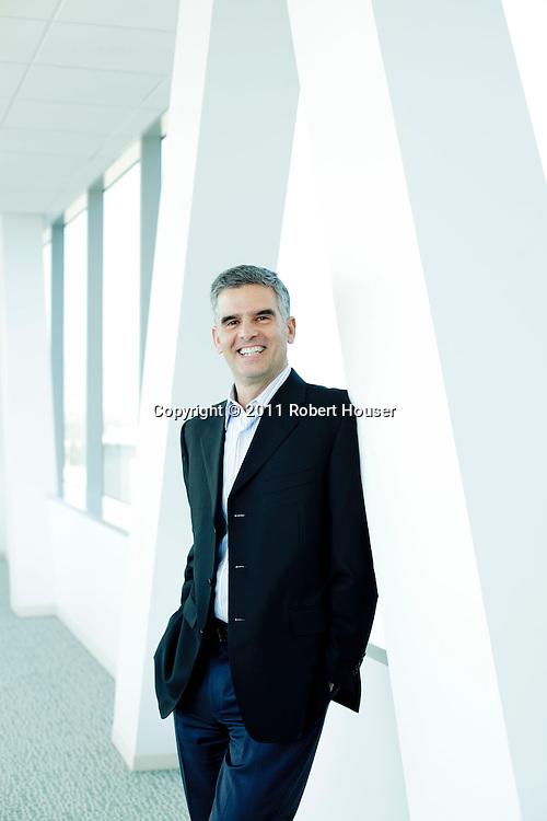 Portrait of Mark Garrett - CFO - Adobe