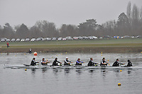 002 Osiris W.SEN.8+..Marlow Regatta Committee Thames Valley Trial Head. 1900m at Dorney Lake/Eton College Rowing Centre, Dorney, Buckinghamshire. Sunday 29 January 2012. Run over three divisions.