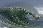 28 September 2009, Hossegor, France --- A big wave breaks in Hossegor. Photo by Victor Fraile --- Image by © Victor Fraile/Corbis.