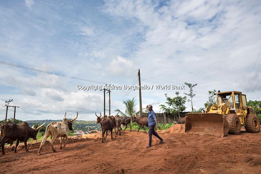 Nigeria, Enugu State, NEWMAP, World Bank Gully erosion