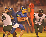 Oxford High's Guy Cameron Billups (16) vs. West Point in high school playoff action in Oxford, Miss. on Friday, November 19, 2010. West Point won 27-12.