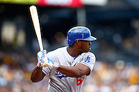 August 8, 2015: Los Angeles Dodgers vs Pittsburgh Pirates