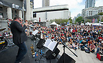 Barry Elmes Quintet at Robson Square.