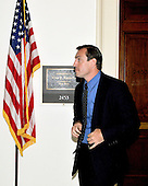 Washington, DC - May 7, 2008 -- United States Representative Vito J. Fossella (Republican of New York) departs his Capitol Hill office in Washington, DC on Wednesday, May 7, 2008.  He was in his office for 38 minutes and 29 seconds.  Fossella has admitted to an extra-marital affair with Laura Fay, with whom he has fathered a daughter..Credit: Ron Sachs / CNP.(RESTRICTION: NO New York or New Jersey Newspapers or newspapers within a 75 mile radius of New York City)