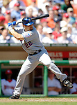 11 April 2006: Xavier Nady, outfielder for the New York Mets, at bat against the Washington Nationals during the Nationals' Home Opener at RFK Stadium, in Washington, DC. The Mets defeated the Nationals 7-1 to maintain their early lead in the NL East...Mandatory Photo Credit: Ed Wolfstein Photo..