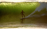 Dec 04, 2007; El Segundo, CA, USA-  8 to 12 foot waves hit El Porto today in El Segundo as dangerously high surf begins to pound the Southern California coast.