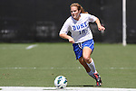 09 September 2012: Duke's Maddy Haller. The Duke University Blue Devils defeated the Marquette University Golden Eagles 5-2 at Koskinen Stadium in Durham, North Carolina in a 2012 NCAA Division I Women's Soccer game.