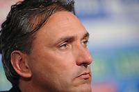 VOETBAL: HEERENVEEN: Abe Lenstra Stadion, 21-10-2012, SC Heerenveen - FC Groningen, Einduitslag 3-0, Robert Maaskant baalt van het verlies ©foto Martin de Jong