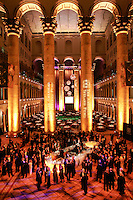 """Slug:  The American Ireland Fund.Date: .Photographer: Mark Finkenstaedt.Location: The National Building Museum. Washington DC.Caption:   The American Ireland Fund Annual Gala Dinner...Handout photo - The John Templeton Foundation - Photo by  Mark Finkenstaedt...© 2010 Mark Finkenstaedt. GRANT OF RIGHTS: In consideration of the fee, and for other good and valuable consideration, Photographer hereby grants to the John Templeton Foundation a non-exclusive, unlimited license to use, display, perform, reproduce, publish, copy, alter the color digital captures produced pursuant to this estimate (the """"Works""""); provided that the John Templeton Foundation's use of the Works as permitted hereunder shall be for noncommercial purposes, only, for uses which require no model releases, and in JTF publications or by any means or media now in existence or hereafter developed (including without limitation the John Templeton Foundation's website), and for internal and archival purposes.  Photographer reserves all other rights to the Works.  If the John Templeton Foundation wishes to have any additional uses of the Works that are not provided above, Photographer and the John Templeton Foundation must agree in writing to such terms of use..Contact the photographer for additional use..202.258.2613."""