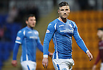 St Johnstone v Hearts..19.12.15  SPFL  McDiarmid Park, Perth<br /> Michael O'Halloran<br /> Picture by Graeme Hart.<br /> Copyright Perthshire Picture Agency<br /> Tel: 01738 623350  Mobile: 07990 594431