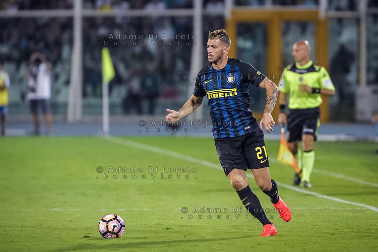 Davide Santon (Inter) during the Italian Serie A football match Pescara vs SSC Inter on September 11, 2016, in Pescara, Italy. Photo by Adamo DI LORETO