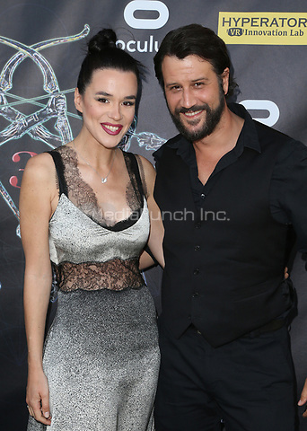BEVERLY HILLS, CA - April 20: Ivana Horvat, Stefan Kapicic, At Artemis Women in Action Film Festival - Opening Night Gala At The Ahrya Fine Arts Theatre In California on April 20, 2017. Credit: FS/MediaPunch