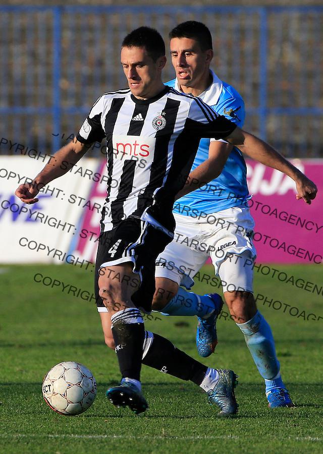 Fudbal Jelen Super League season 2015-2016<br /> Spartak v Partizan<br /> Miroslav Vulicevic (L)<br /> Subotica, 29.11.2015.<br /> foto: Srdjan Stevanovic/Starsportphoto&copy;