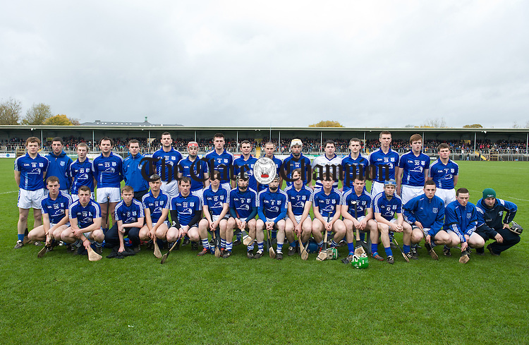 The Cratloe team before the senior county hurling final at Cusack Park. Photograph by John Kelly.