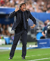 FUSSBALL EURO 2016 VIERTELFINALE IN BORDEAUX Deutschland - Italien      02.07.2016 Trainer Antonio Conte (Italien)