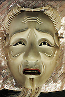 Old man teaching mask (Kojyo?) by Kojima Oun.