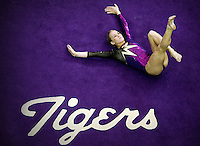 Kelly Phelan performs on the floor Feb. 23, 2007 in the Pete Maravich Assembly Center.