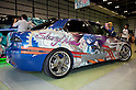 June 2, 2012, Tokyo, Japan - The car is plastered with Macross Frontier anime characters at the Moe Culture Festival 2012.  The Anime and Cosplay exhibition &quot;Moe Culture Festival 2012&quot; from June 2nd to 3rd at Otaku Sangyou Plaza Pio..