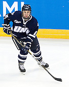 Brett Kostolansky (UNH - 15) - The University of Notre Dame Fighting Irish defeated the University of New Hampshire Wildcats 2-1 in the NCAA Northeast Regional Final on Sunday, March 27, 2011, at Verizon Wireless Arena in Manchester, New Hampshire.
