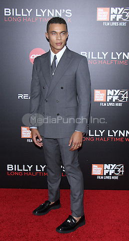NEW YORK, NY-October 14: Ismael Cruz Cordova at NYFF54 Special Wortldf Premiere Presentation Billy Lynn's Halftime Walk at AMC Lincoln Square in New York.October 14 , 2016. Credit:RW/MediaPunch