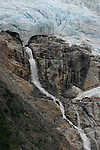 Waterfall from Holgate Glacier