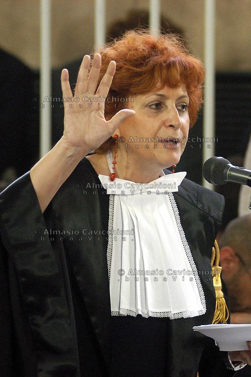 ILDA BOCCASSINI pubblico ministero. ILDA BOCCASSINI prosecutor