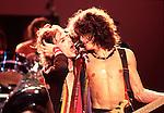Aerosmith 1984 Steven Tyler & Joe Perry.
