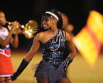 Clarksdale High majorettes dance at halftime of Oxford High vs. Clarksdale High at Bobby Holcomb Field in Oxford, Miss. on Friday, October 1, 2010. Oxford won.