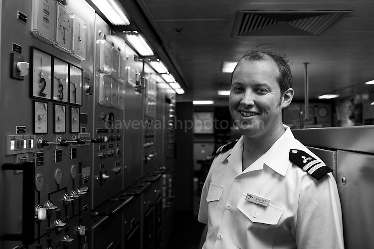 Mick Walsh, my brother, 3rd engineer on board the Wind Spirit, IJmuiden, July 2011