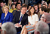 Conservative Party Spring Forum <br /> at The Old Granada Studios, Manchester, Great Britain <br /> 28th March 2015 <br /> <br /> <br /> David Cameron <br /> Prime Minister and Leader of the Conservatives <br /> speech <br /> <br /> Samantha Cameron <br /> <br /> George Osborne <br /> Chancellor the Exchequer <br /> speech <br /> <br /> Photograph by Elliott Franks