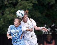 Boston College Women's Soccer vs University of North Carolina, October 13, 2013