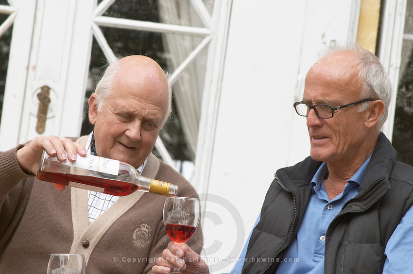 Peter & Flemming Jorgensen, owners. Chateau de Haux, Bordeaux, France