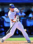 7 March 2010: New York Mets' third baseman David Wright in action during a Spring Training game against the Washington Nationals at Tradition Field in Port St. Lucie, Florida. The Mets edged out the Nationals 6-5 in Grapefruit League pre-season play. Mandatory Credit: Ed Wolfstein Photo
